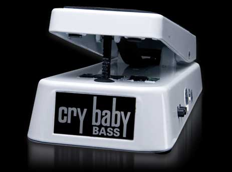 Dunlop Bass Wah White