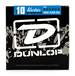 Dunlop Nickel Wound Light Top Heavy Bottom 10-52