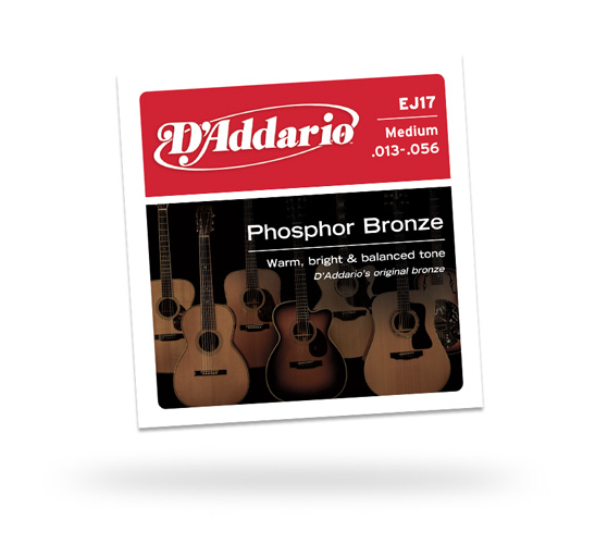 D'Addario Medium Phosphor Bronze 13-56