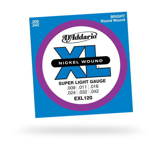 D'Addario Super Light 9-42