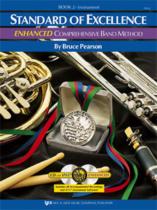 Standard of Excellence Enhanced Combined Percussion Book 2