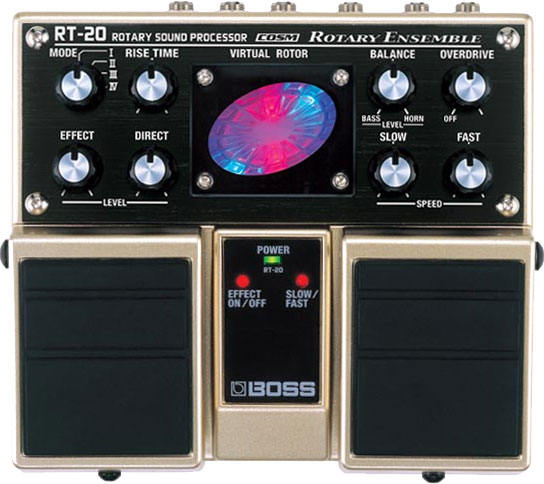 Boss® RT-20 Rotary Ensemble