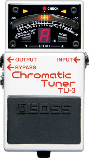 Boss® TU-3 Chromatic Tuner
