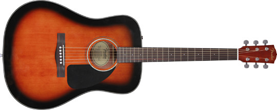 Fender® CD-60 Acoustic Guitar Sunburst