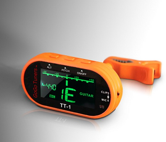 GoGo TT-1 Chromatic Clip On Tuner