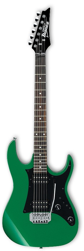 Ibanez GRX20Z Electric Guitar Green Metallic