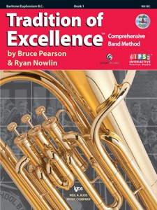 Tradition of Excellence Baritone Horn B.C. Book 1