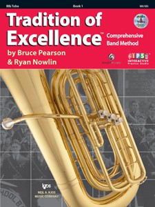 Tradition of Excellence Tuba BBb Book 1