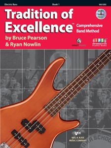 Tradition of Excellence Electric Bass Book 1