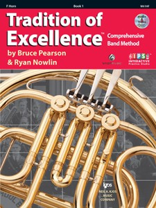 Tradition of Excellence French Horn Book 1