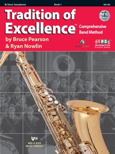 Tradition of Excellence Tenor Saxophone Book 1