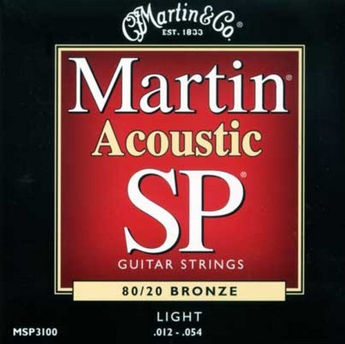 Martin MSP3100 SP 80/20 Bronze 12-54