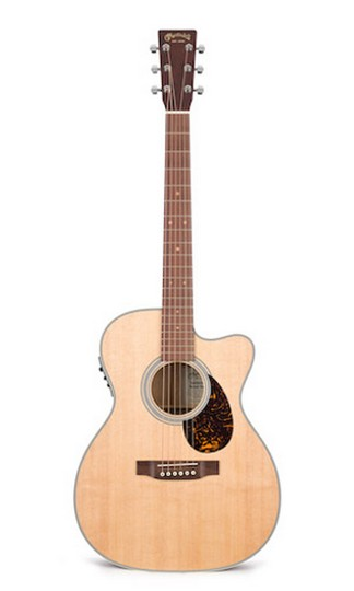 Martin OMCGTE Cherry Acoustic Guitar