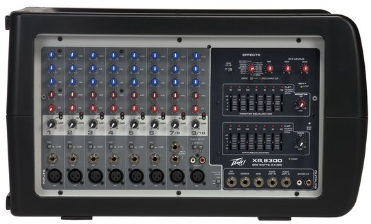Peavey XR® 8300 Powered Mixer