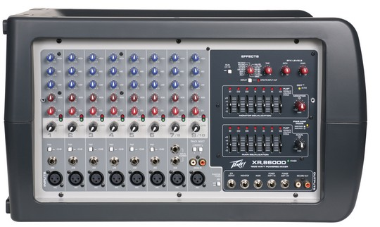 Peavey XR® 8600D Powered Mixer