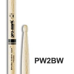 Pro-Mark 2B Wood-Tip Japanese Oak Drumsticks