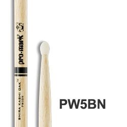 Pro-Mark 5B Nylon-Tip Japanese Oak Drumsticks
