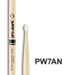 Pro-Mark 7A Nylon-Tip Japanese Oak Drumsticks