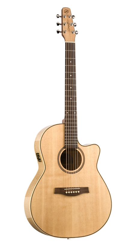 Seagull Performer Folk Flame Maple