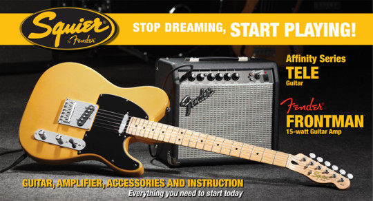 Squier® Affinity Series Tele® w/Frontman® 15G