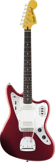 Squier® Vintage Modified Jaguar® Candy Apple Red