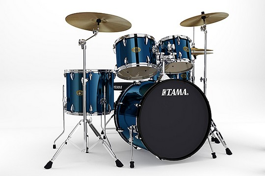 Tama IS52KC Imperial Star 5-Piece Kit w/Hardware Midnight Blue