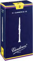 Vandoren Clarinet Reeds Traditional