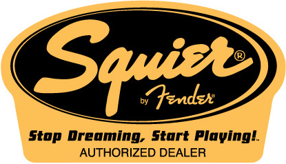 Squier Authorized Dealer